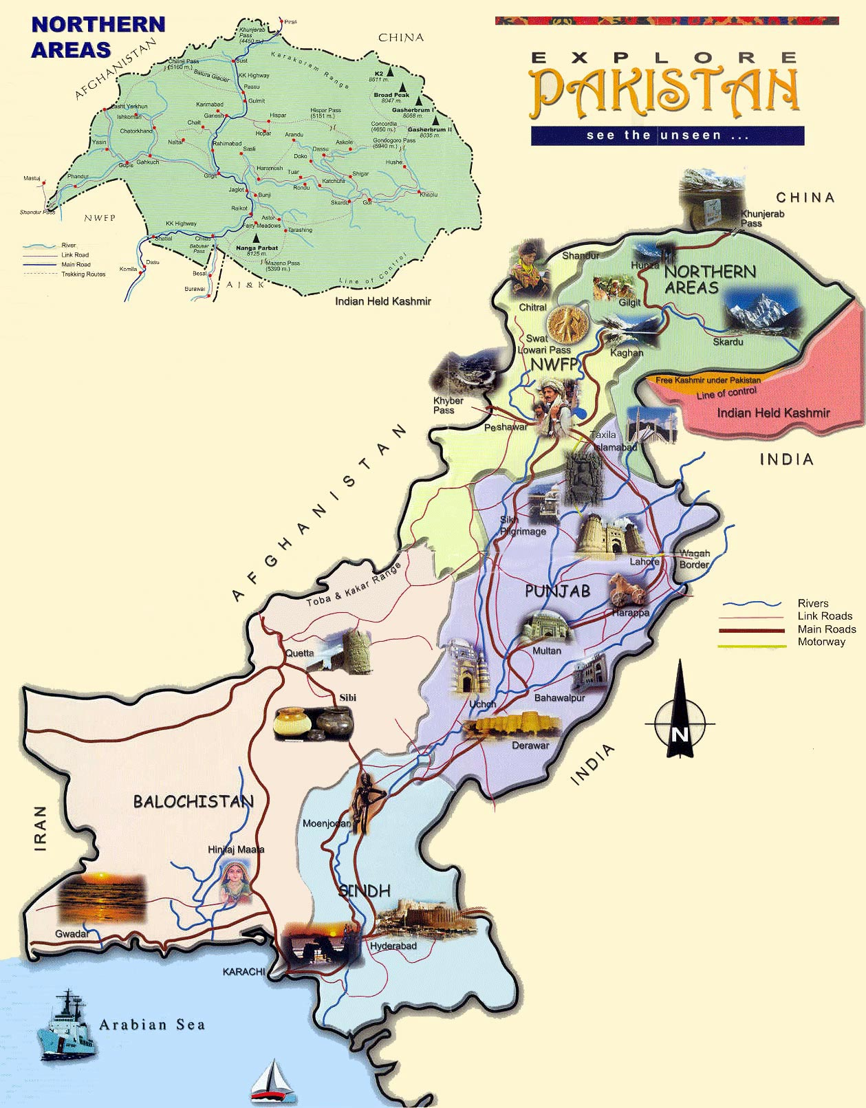 Pakistan Maps Printable Maps Of Pakistan For Download - Map pakistan