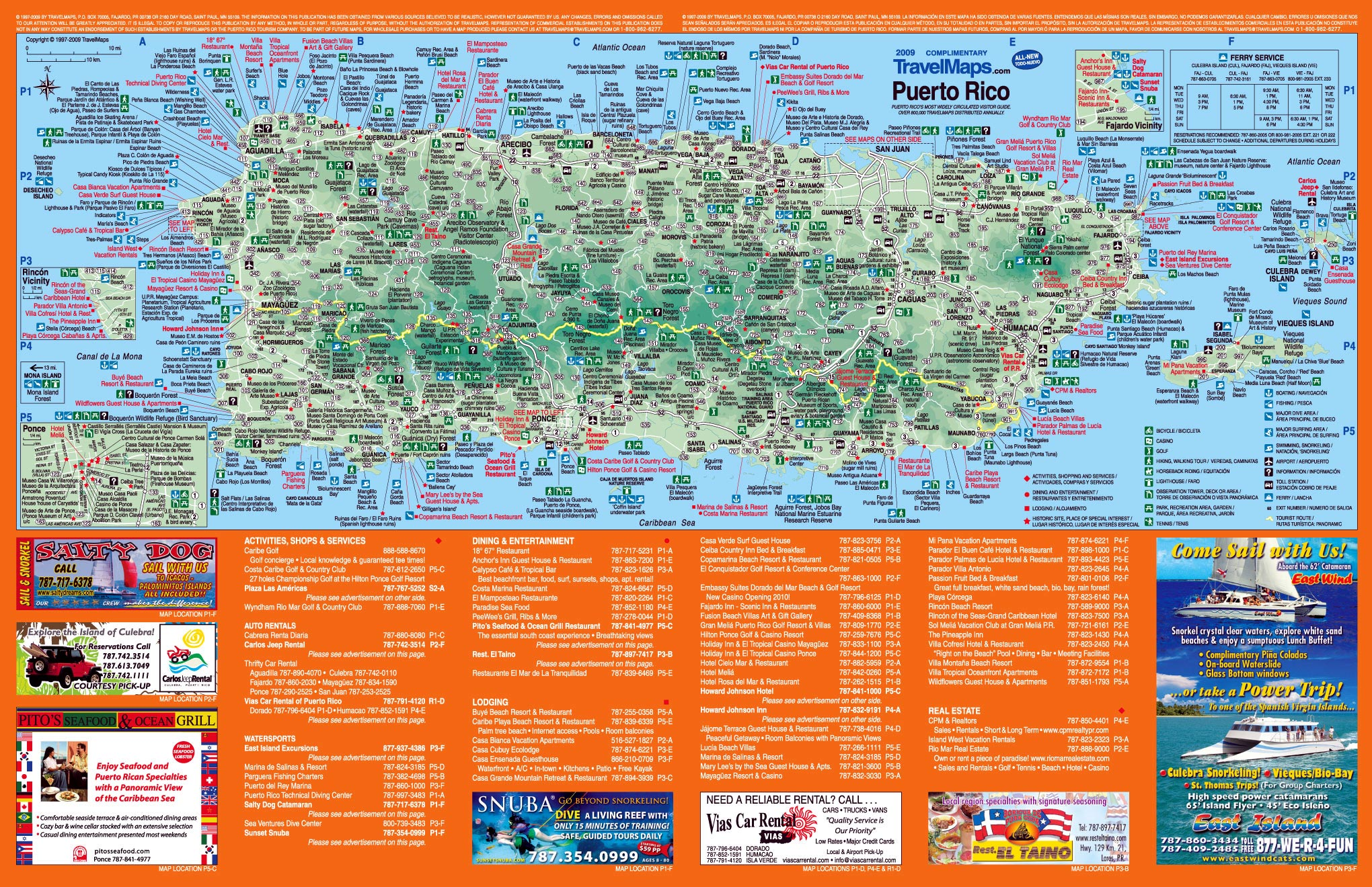 Puerto Rico Maps Printable Maps Of Puerto Rico For Download - Puerto rico maps
