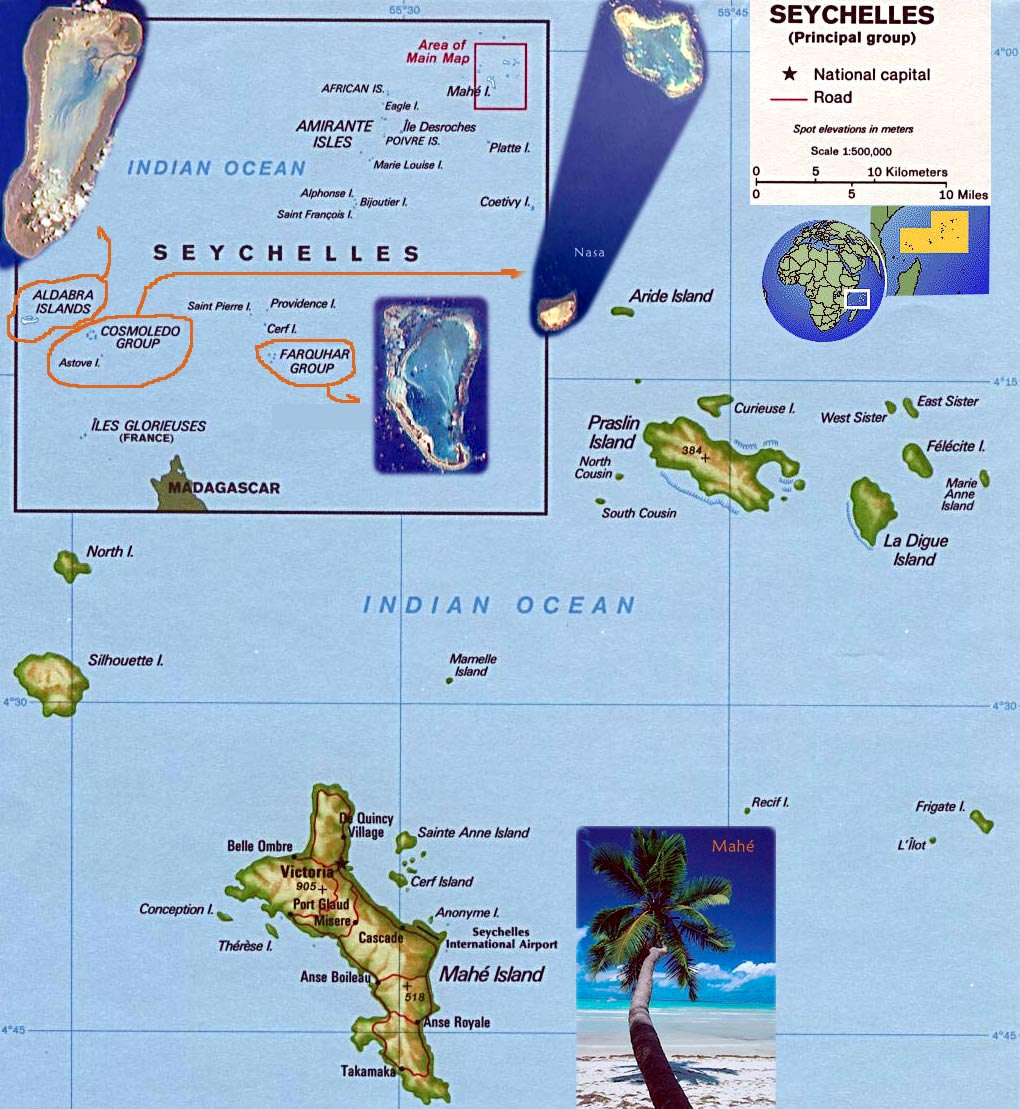Seychelles Maps Printable Maps Of Seychelles For Download - Seychelles interactive map