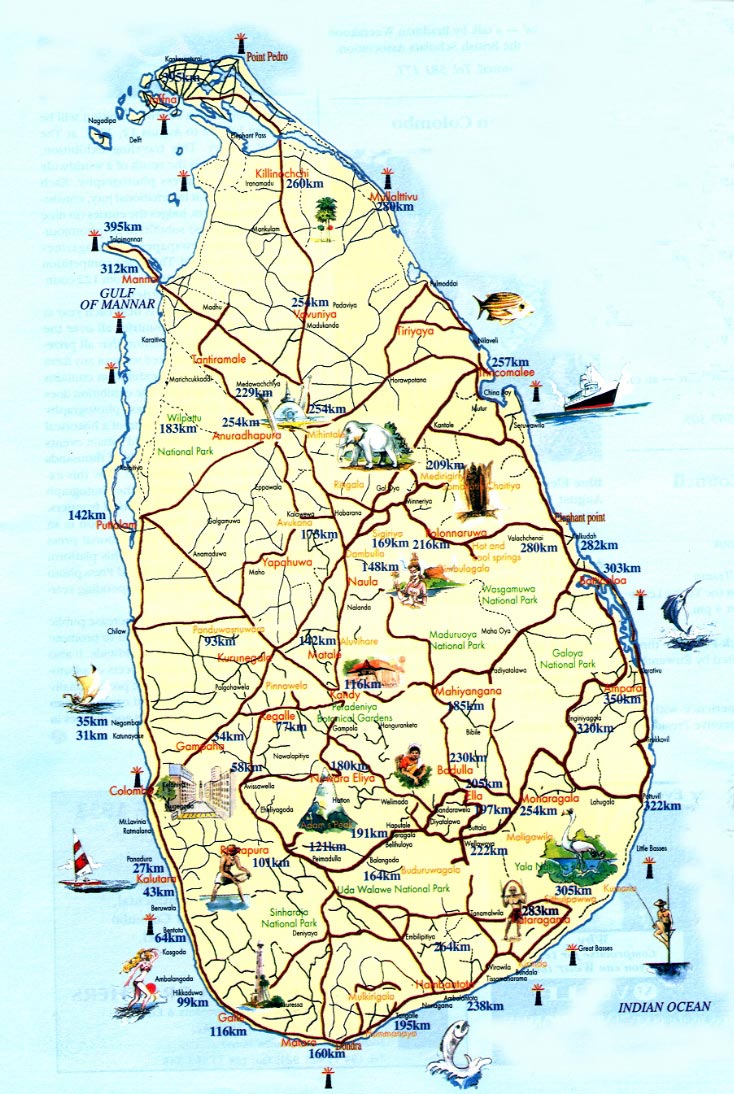 sri lanka mapa Sri Lanka Maps | Printable Maps of Sri Lanka for Download sri lanka mapa