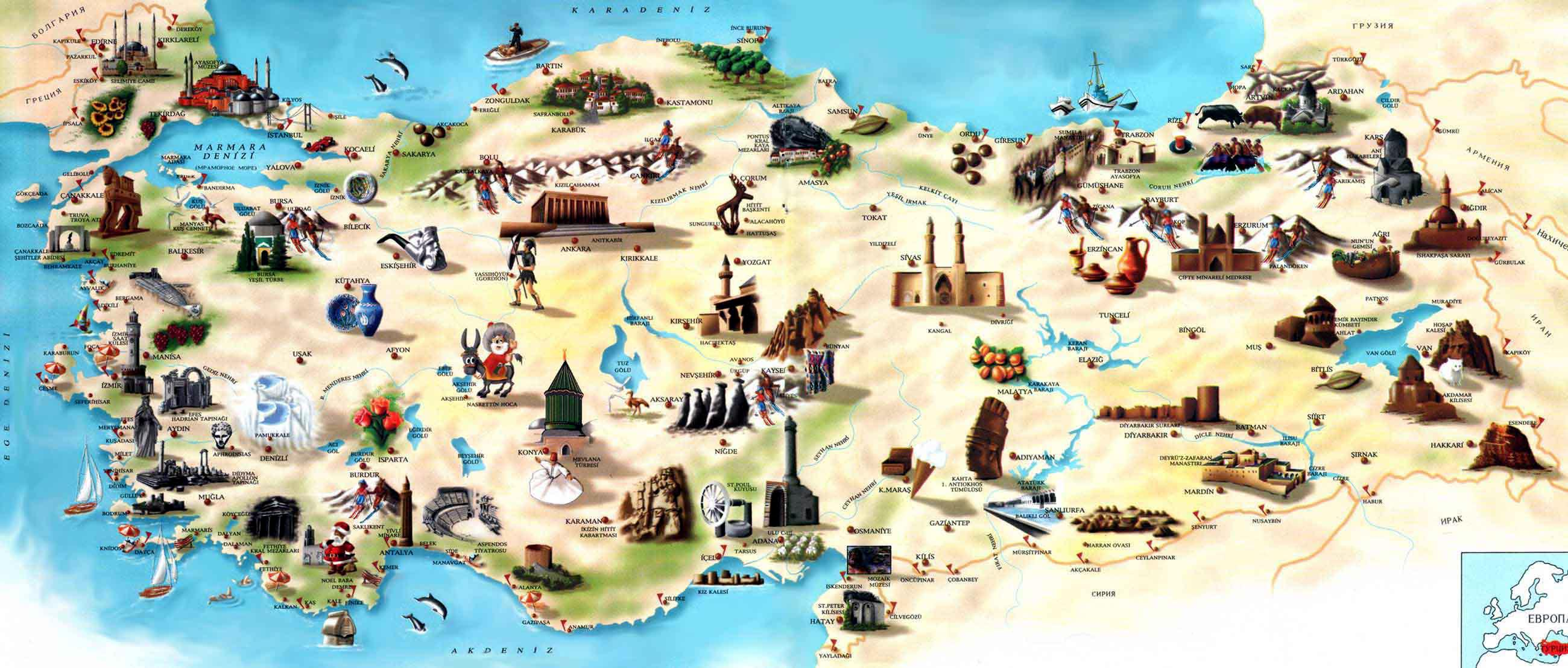 Turkey Maps Printable Maps Of Turkey For Download - Turkey map