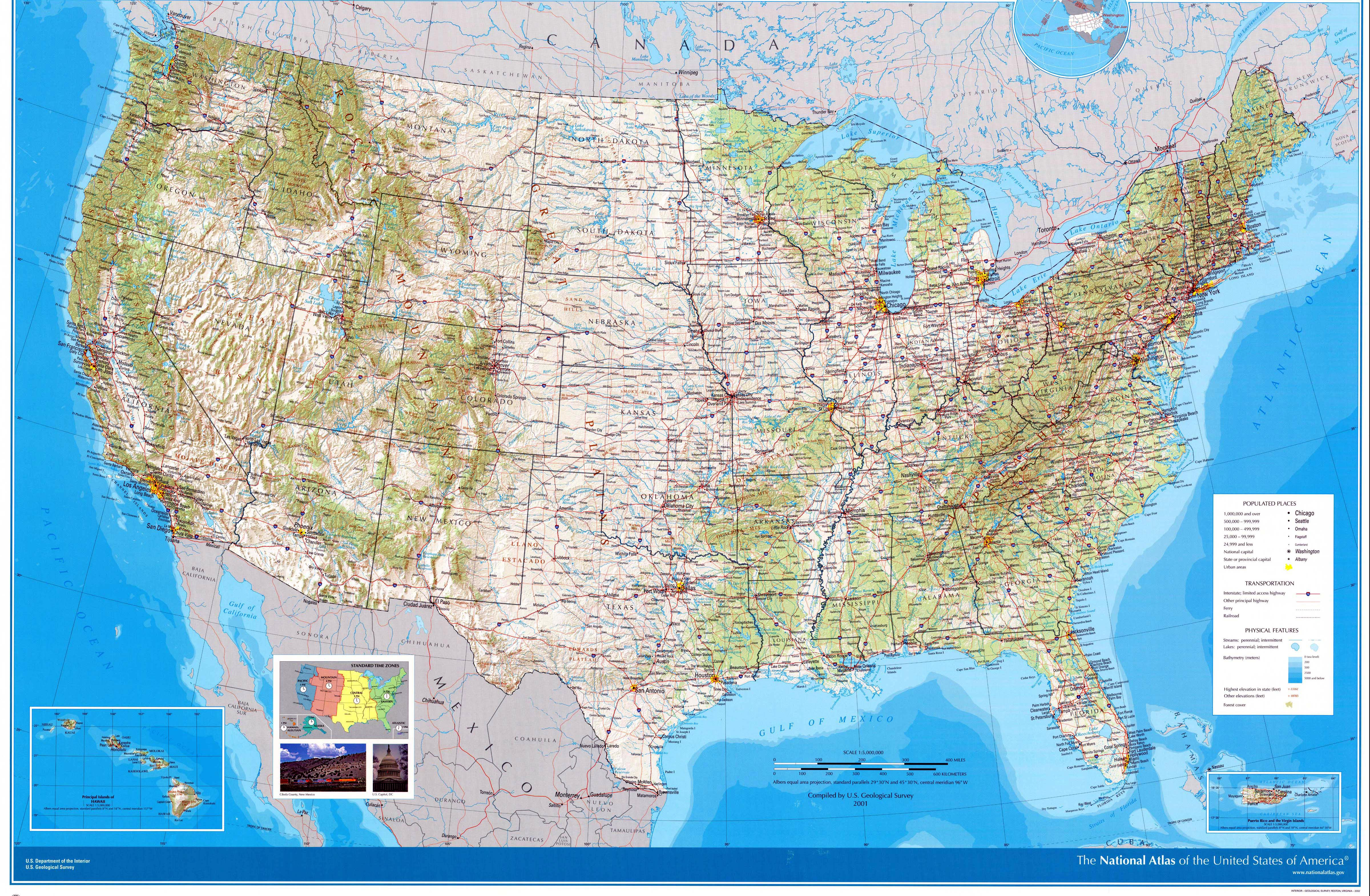 Downloadable Us Road Map USA Maps | Printable Maps of USA for Download