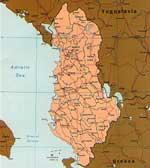 Карты Албании