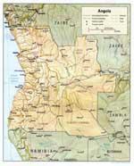 Maps of Angola