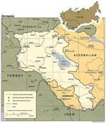 Maps of Armenia