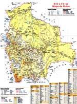 Maps of Bolivia