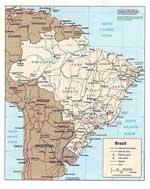 Landkarten von Brasilien