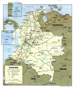 Maps of Colombia
