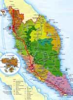 Landkarten von Malaysia