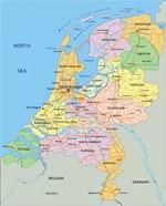 Карты Голландии