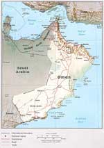 Maps of Oman