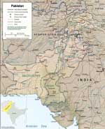 Maps of Pakistan