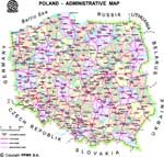 Maps of Poland