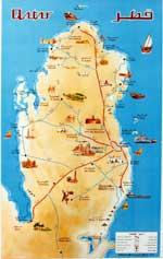 Maps of Qatar