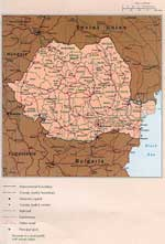 Maps of Romania