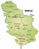 Maps of Serbia