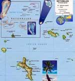 Landkarten von Seychellen