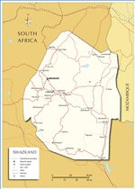 Maps of Swaziland