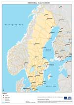 Maps of Sweden