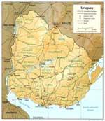 Maps of Uruguay