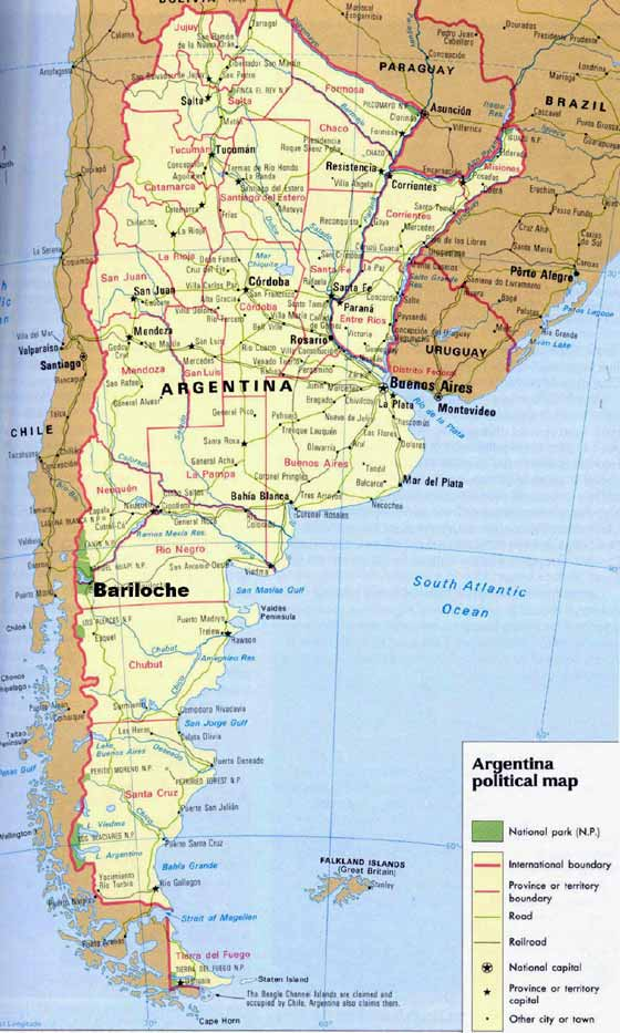 Download Argentine Girl Wallpaper For Mac: Printable Maps Of Argentina For Download