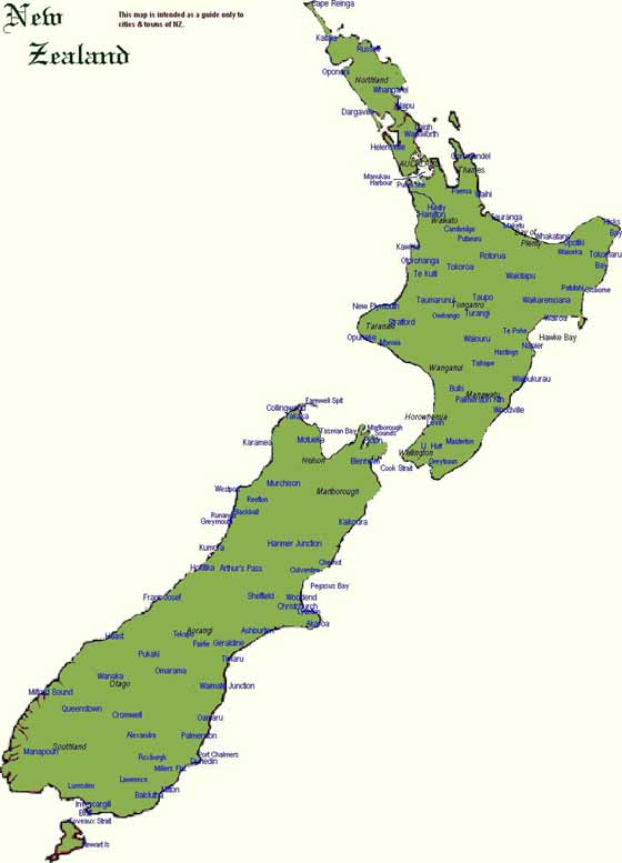 Unusual image with new zealand map printable