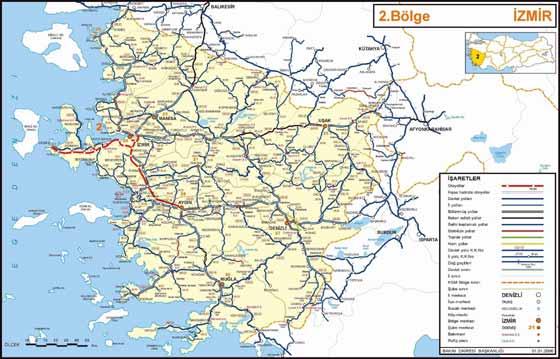 mapa del país de  Turquía
