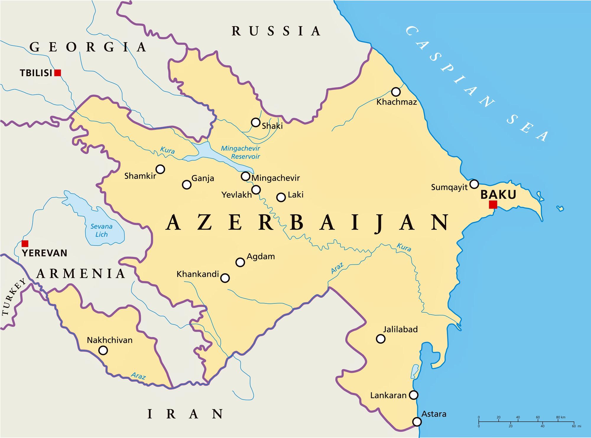 Aserbaidschan wo weltkarte liegt Wo liegt