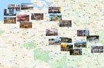 Карта городов Бельгии