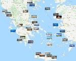 Städtekarte von Griechenland