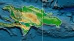 Relief map of Dominican Republic