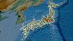 Карта рельефа Японии