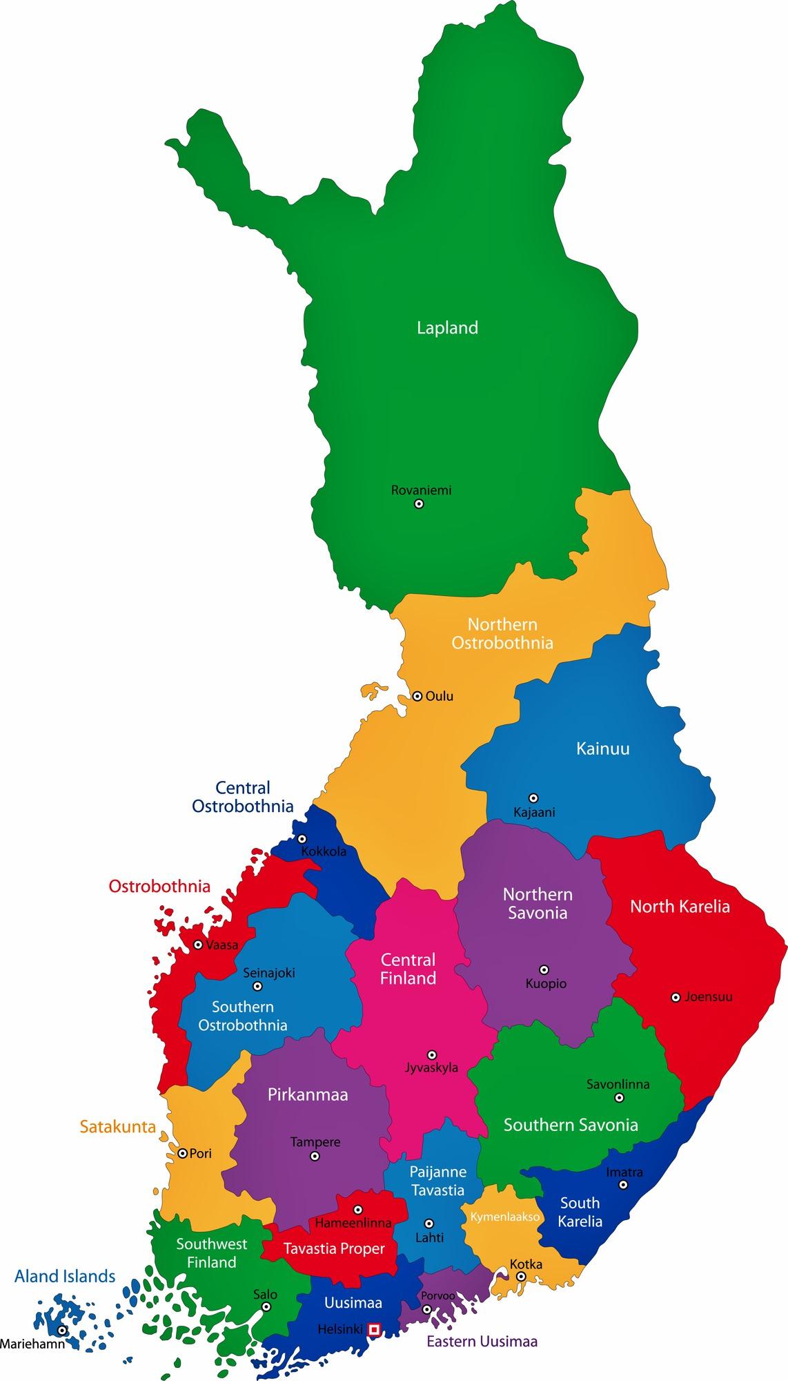 Finnish Map