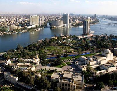 Каир с высоты птичьего полета