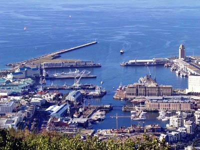 Кейптаун с высоты птичьего полета