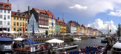 Копенгаген с высоты птичьего полета