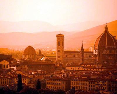 Флоренция с высоты птичьего полета