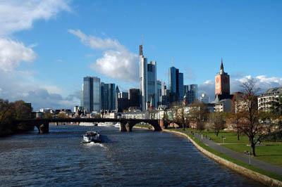 Франкфурт с высоты птичьего полета