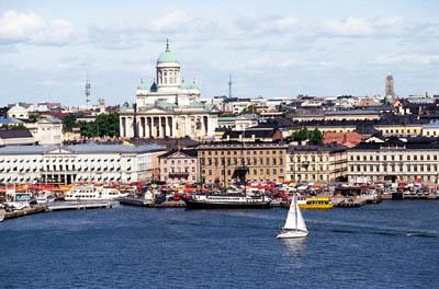Хельсинки с высоты птичьего полета