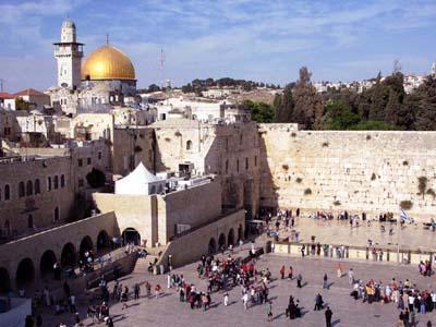 Иерусалим с высоты птичьего полета