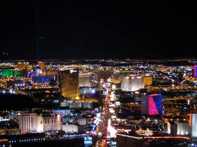 Лас Вегас с высоты птичьего полета