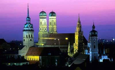 Мюнхен с высоты птичьего полета