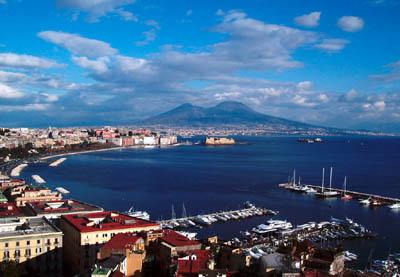 Неаполь с высоты птичьего полета