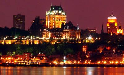 Квебек с высоты птичьего полета