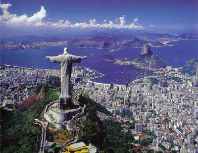 Рио-де-Жанейро с высоты птичьего полета