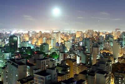 Сан-Паулу с высоты птичьего полета