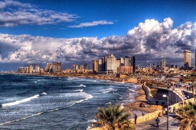Тель-Авив с высоты птичьего полета