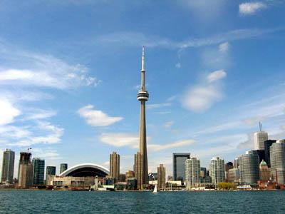 Торонто с высоты птичьего полета