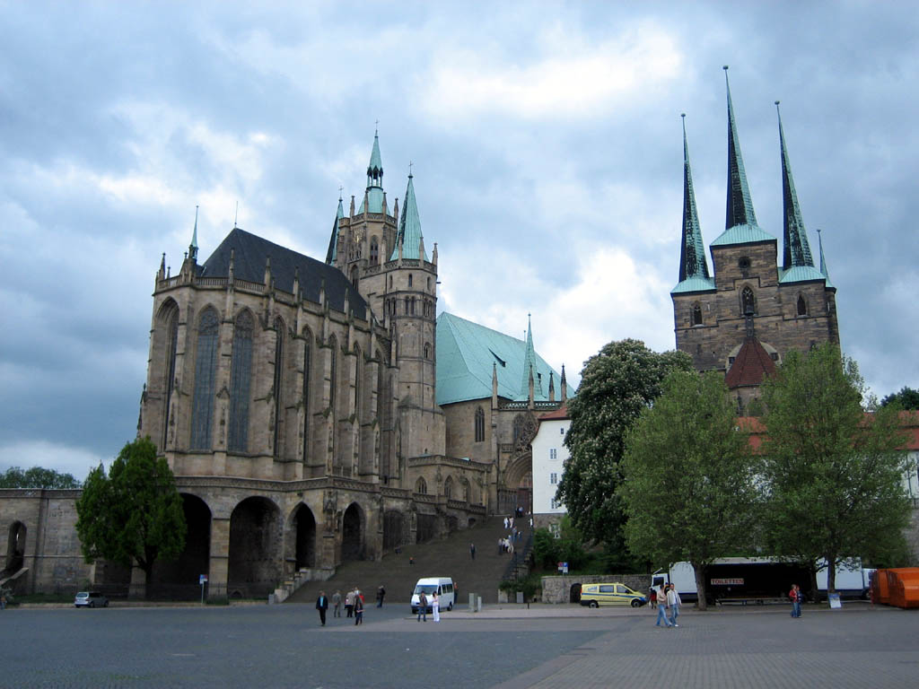 Erfurt was first mentioned by