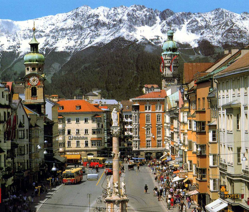 Innsbruck City Travel Guide to Innsbruck